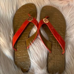 Tory Burch Thora Flip flops red